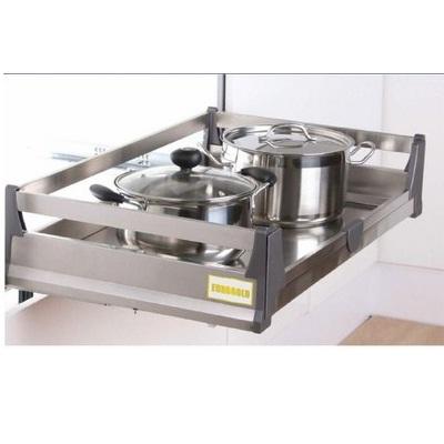 Giá- để- xoong- nồi- bát -đĩa -inox -ao -cấp - Phụ- kiện- tủ -bếp- EUROGOLD