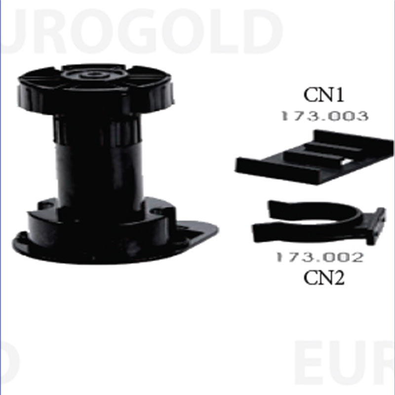 Chân nhựa tăng chỉnh CN1(CN2) - Eurogold - eurogold.vn